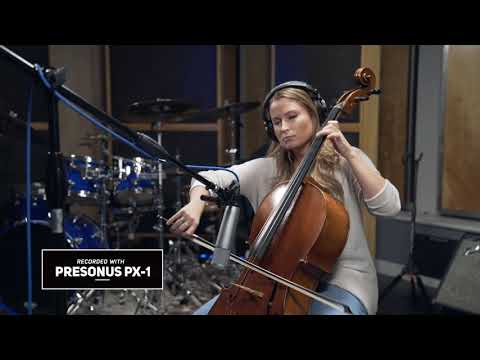 PreSonus PX-1 microphone: Foto Sisters' Gaylyn Foto on Cello