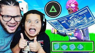 MY LITTLE BROTHER OFFICIALLY SWITCHES BACK TO OLD SCHOOL!! OMG I CANT BELIEVE THIS! FORTNITE BR 😱
