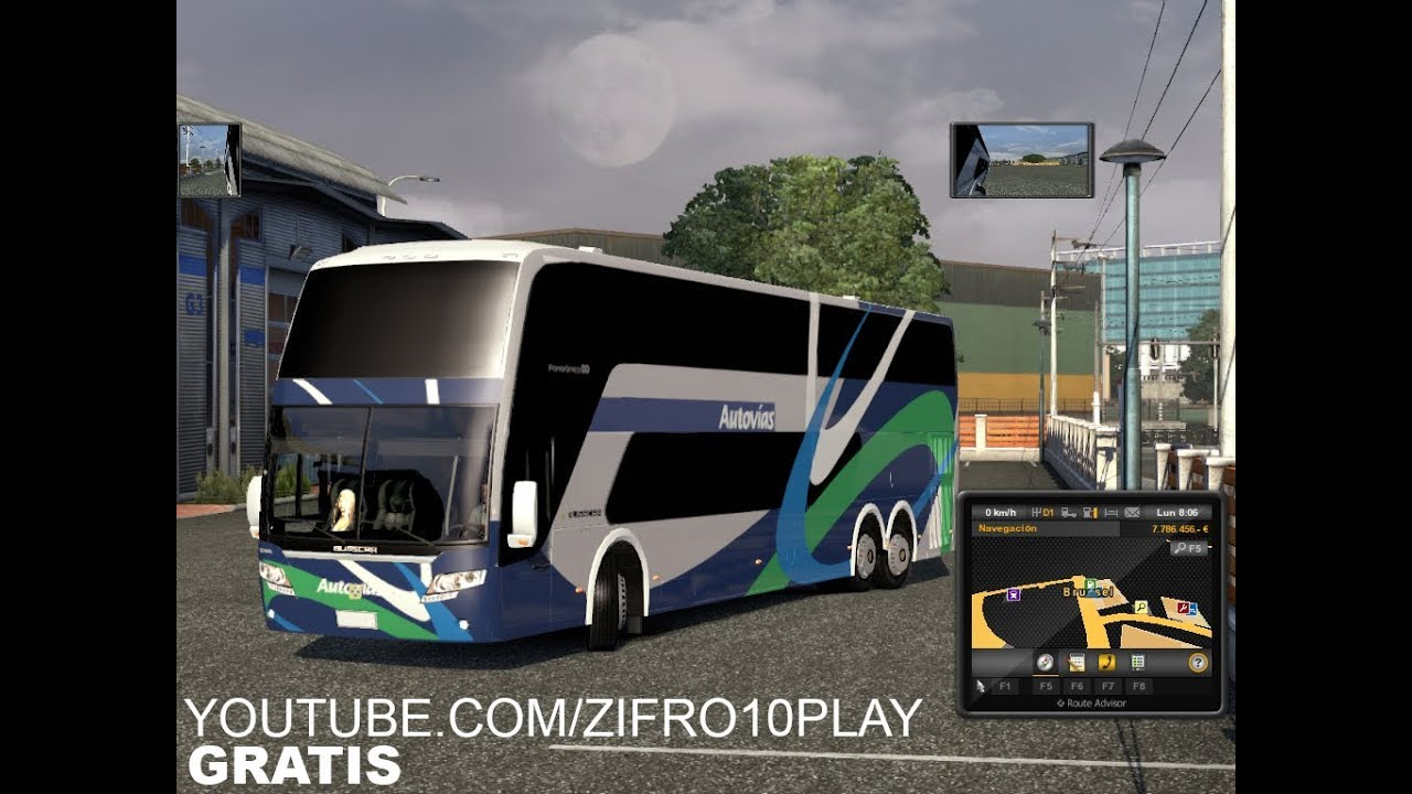 euro truck simulator 2 1.7 bus mod download