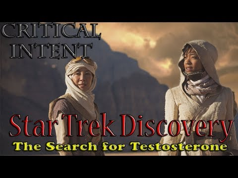 Star Trek Discovery - The Search for Testosterone (Trailer Review)