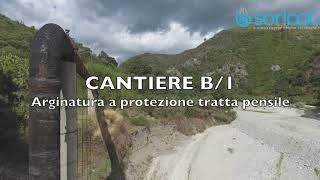I 5 cantieri Sorical sul fiume Alli a Catanzaro