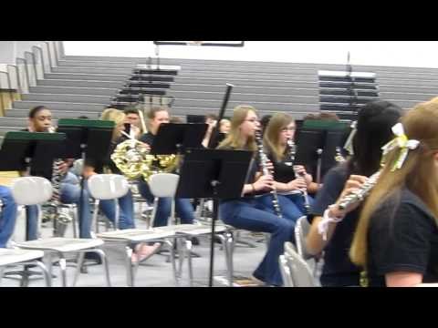 Valley Forge March by Whitworth Buchanan Middle School Band