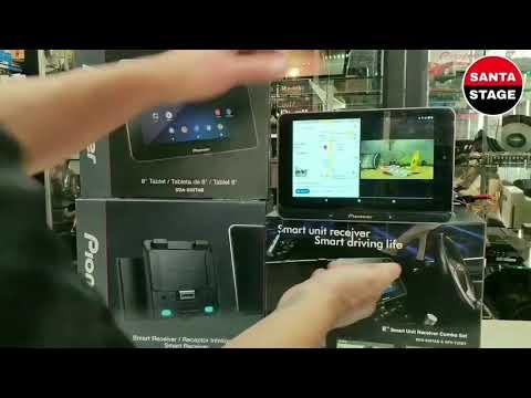 Автомагнитола Pioneer STH-80BT на Android