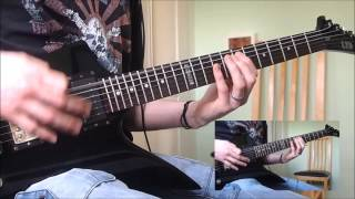 """Arch Enemy """"Enemy Within"""" guitar cover. Find me here: www.guitarles..."""