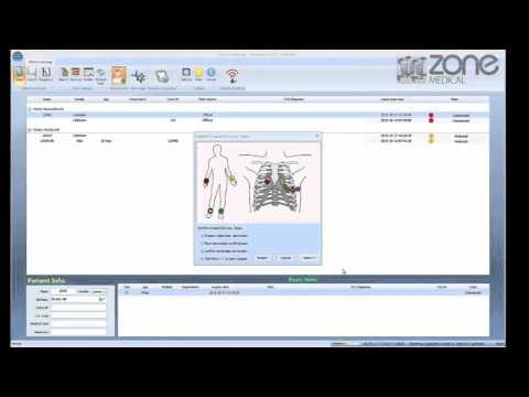 Cardioshield PC ECG Conducting a test