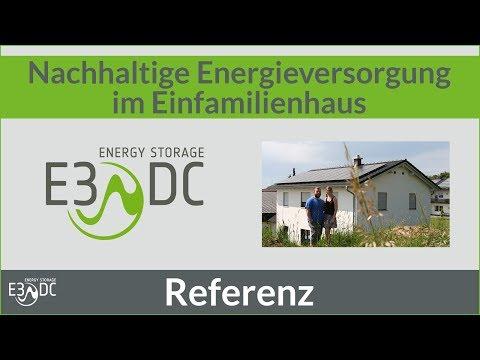 Nachhaltige Energieversorgung im Einfamilienhaus