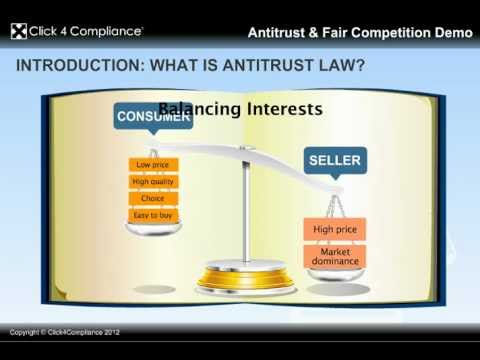 Global Antitrust & Fair Competition Compliance Training