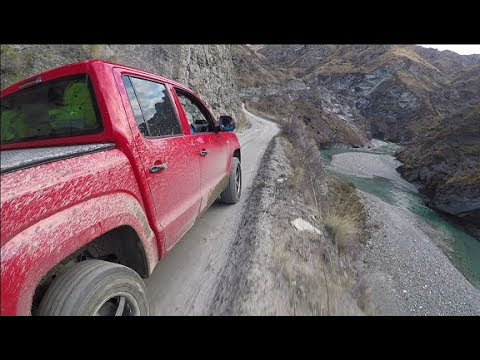 Skippers Canyon     New Zealand's most Dangerous Road