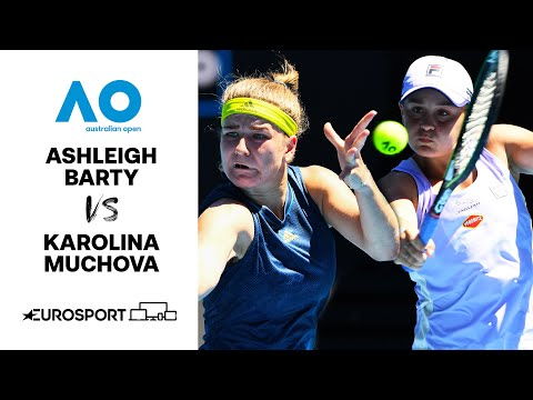 Ashleigh Barty v Karolina Muchova | Australian Open 2021 - Highlights | Tennis | Eurosport