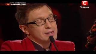 Х-Фактор 2. Олег Кензов 2 песня - эфир 24.12.2011