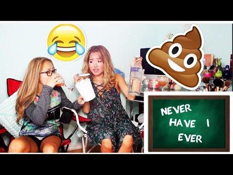 J'ai Fait CACA À L'école?! : Never Have I Ever W/My Sister