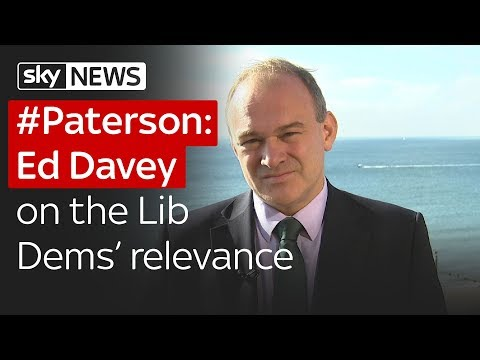 #Paterson: Ed Davey on the Lib Dems' relevance
