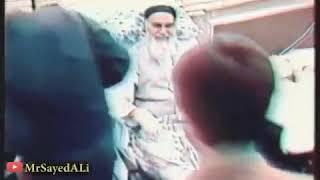لحظة وفاة الإمام الخميني