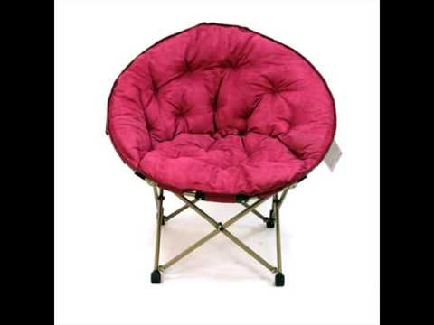 Cheap Dorm Chairs Chair Makes Into Bed Seating Moon Butterfly Youtube