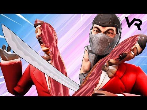 VR   СИМУЛЯТОР НИНДЗЯ В ВИРТУАЛЬНОЙ РЕАЛЬНОСТИ - Ninja Legends ВР