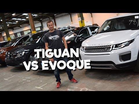Volkswagen Tiguan vs Range Rover Evoque