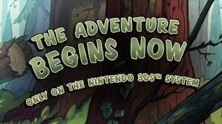 Gravity Falls - Legend of the Gnome Gemulets - 3DS Launch Trailer