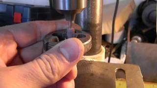 заправка (заточка) плашки(как с помощью насадки на бормашину заправить плашку, довести до рабочего состояния., 2016-05-04T19:46:25.000Z)