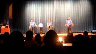 Zeta Phi Beta Sorority, Inc, Rho Alpha Chapter Spring 2010 Step Show Pt. 2 of 2