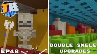 Double Skeleton Farm Improvements, RTX And Hub - Truly Bedrock Season 2 Minecraft SMP Episode 48