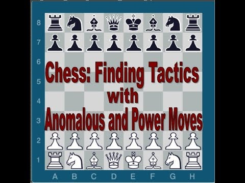 Chess: Finding Tactics with Anomalous and Power Moves