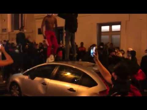 Derrota del PSG ante el Bayern de Munich causa disturbios en las calles de París