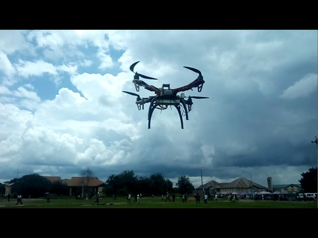 Four Futo student Constructs a Campus Drone