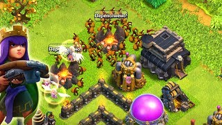 ГОБЛИНЫ+ХИЛКИ! ЧТООО? ФАРМ МИКС НА ТХ9! CLASH OF CLANS