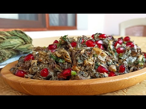 Простой и Вкусный Армянский Салат из Авелука (Конский щавель)/Armenian Salad From Aveluk
