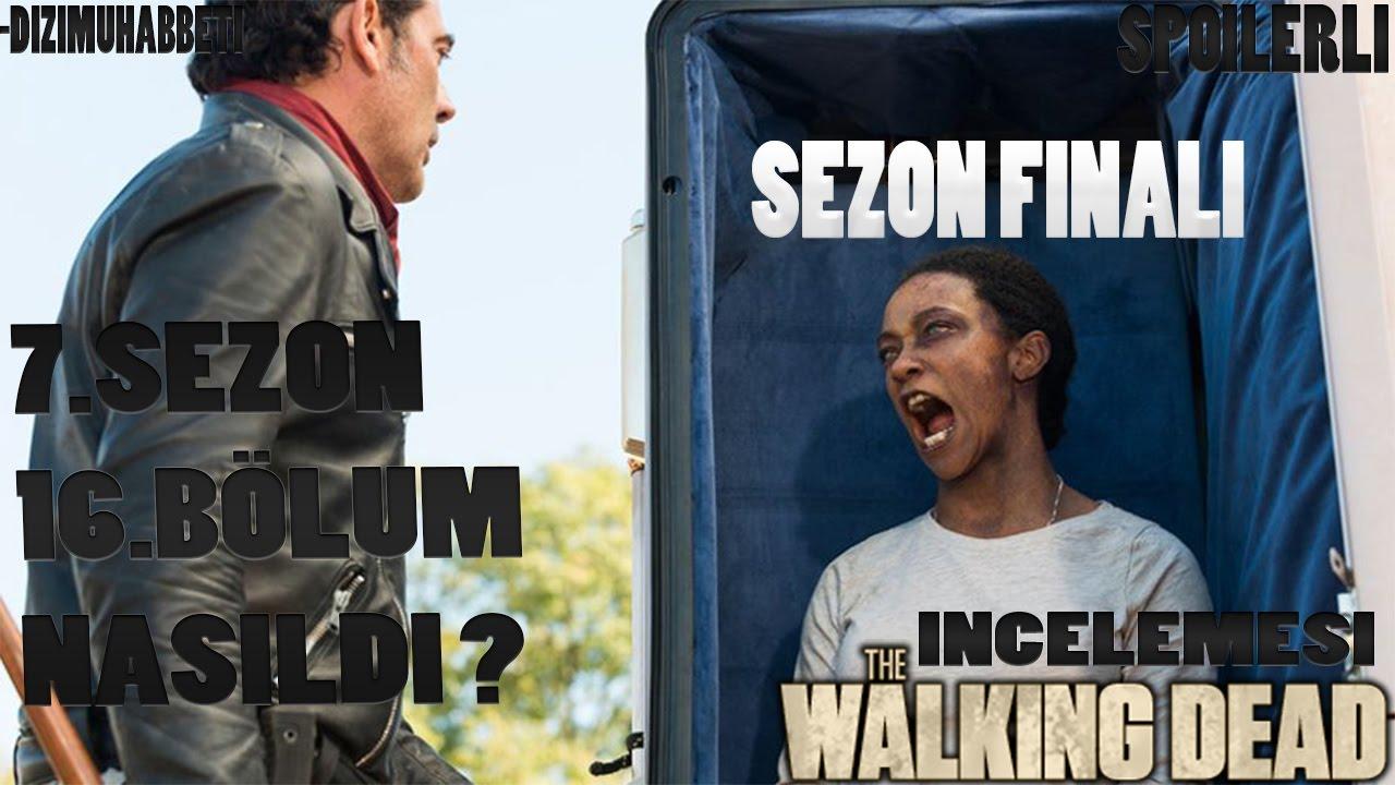 The Walking Dead 7sezon 16bölüm Sezon Finali Türkçe Analizi Ve