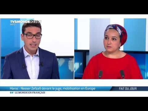 Maroc : Nasser Zefzafi devant le juge, mobilisation en Europe (Hanane Karimi)