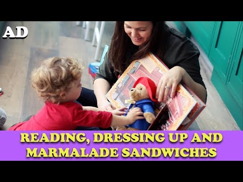 Reading, Dressing Up and Marmalade Sandwiches | AD