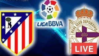 مشاهدة مباراة اتليتكو مدريد وديبورتيفو لاكورونا بث مباشر بتاريخ 04-11-2017 الدوري الاسباني