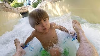Water Park Fun Slide