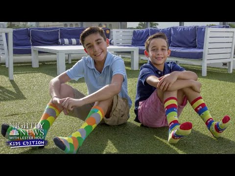 Two Brothers Step Up To Help Charities Around The World   Nightly News: Kids Edition
