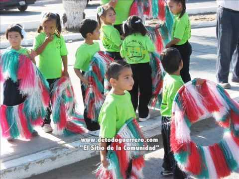 Desfile Deportivo en Guerrero Negro Baja California Sur