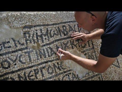 Archaeologists Uncover Ancient Greek Inscription in Jerusalem