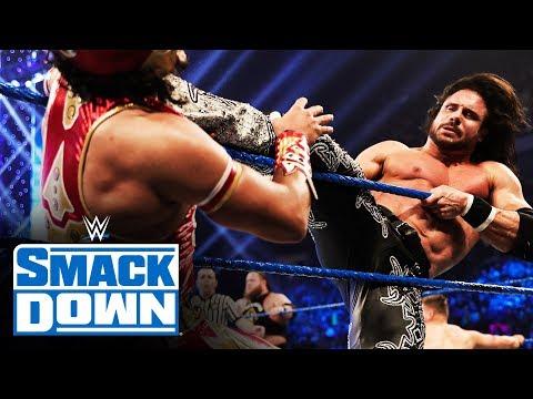 Heavy Machinery vs. Lucha House Party vs. Miz & Morrison vs. The Revival: SmackDown, Jan. 31, 2020