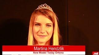 Martjna Hendzlik vincitrice di New Model Today Ortona 2015