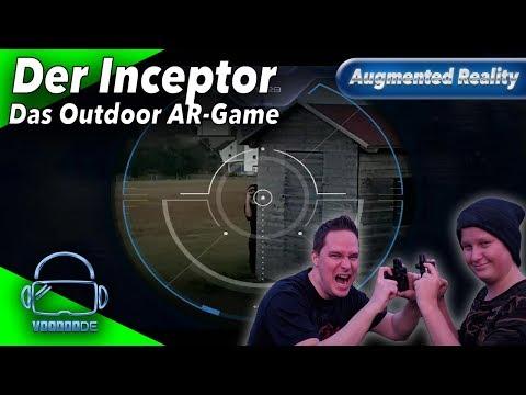 Father.io Mit Inceptor - Das Outdoor AR Spiel! [Laser Tag][German][Augmented Reality]
