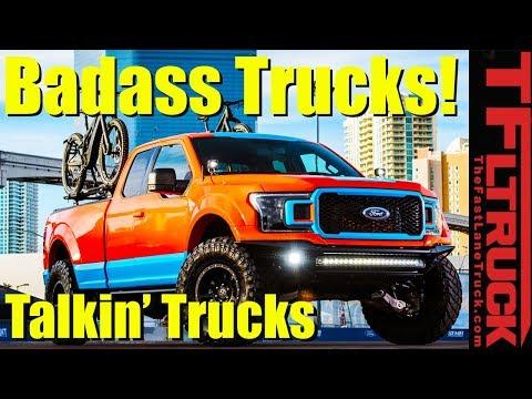 Lifts, Hydrogen and...Pizza? Best Trucks of SEMA 2018: Talkin Trucks #22