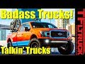 Lifts, Hydrogen and...Pizza? Best Trucks of SEMA 2018: Talkin Trucks #22