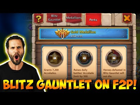 JT's F2P New Game Mode Blitz Gauntlet OWNING Castle Clash
