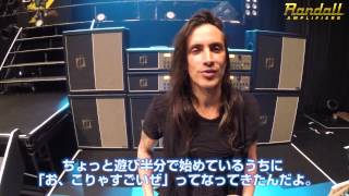 Nuno Bettencourt plays Washburn & Randall