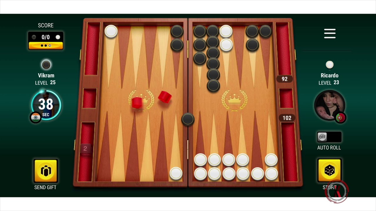 Play Free Backgammon Online Game