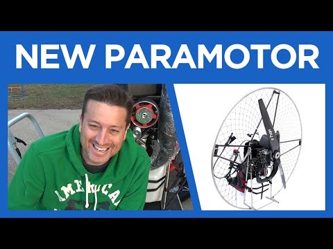 My new Paramotor Arrives - Air Conception Nitro 200