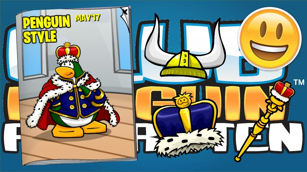 All hidden items in the May Gift Shop Catalog!! (Club Penguin ...