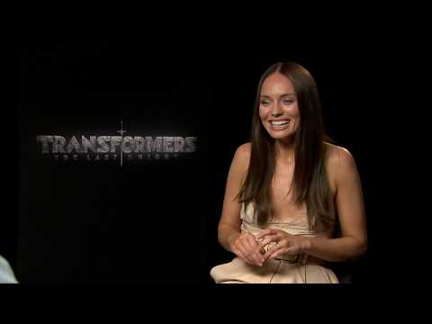 Laura Haddock couldn't stop laughing at Anthony Hopkins on the set of the new Transformers movie