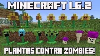 Minecraft 1.6.2 MOD PLANTAS CONTRA ZOMBIES!