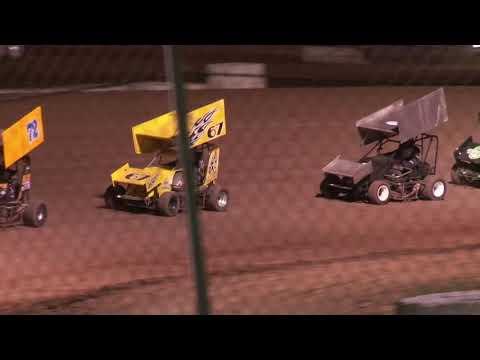 Canyon Speedway Park AZ. Winged Sprint Main Event 5 -26-19
